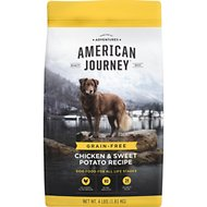 American Journey Chicken & Sweet Potato Recipe Grain-Free Dry Dog Food, 4-lb bag
