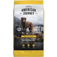 American Journey Chicken & Sweet Potato Recipe Grain-Free Dry Dog Food, 12-lb bag