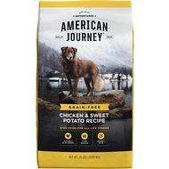 American Journey Chicken & Sweet Potato Recipe Grain-Free Dry Dog Food,  24-lb bag