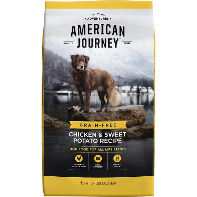 American Journey Chicken Sweet Potato Recipe Grain Free Dry Dog