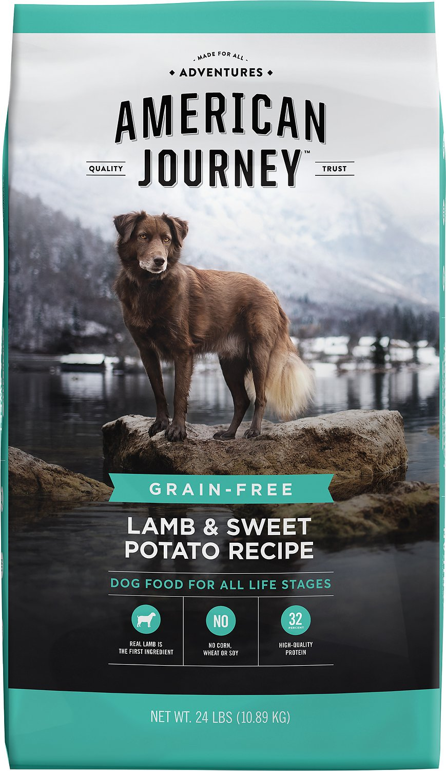 American Journey Lamb & Sweet Potato Recipe