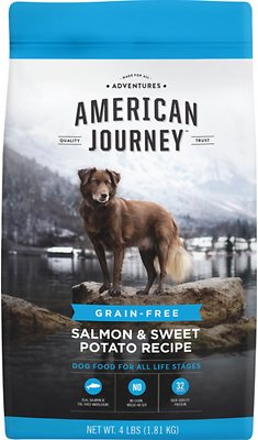 5. American Journey Grain-Free Dry Dog Food (Sweet Potato & Salmon Recipe)