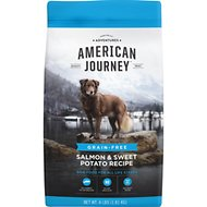 American Journey Salmon & Sweet Potato Recipe Grain-Free Dry Dog Food, 4-lb bag
