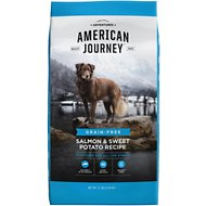American Journey Salmon & Sweet Potato Recipe Grain-Free Dry Dog Food, 12-lb bag