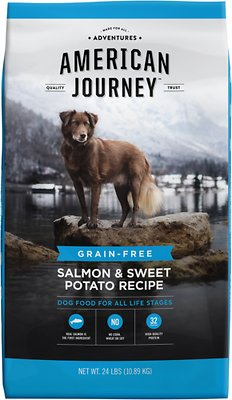 4. American Journey Salmon & Sweet Potato Grain-Free Dry Dog Food