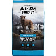 American Journey Salmon & Sweet Potato Recipe Grain-Free Dry Dog Food, 24-lb bag