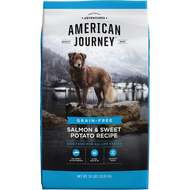 American journey salmon sweet potato recipe grain free dry dog american journey salmon sweet potato recipe grain free dry dog food 24 lb bag chewy forumfinder Image collections
