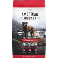American Journey Beef & Sweet Potato Recipe Grain-Free Dry Dog Food, 4-lb bag