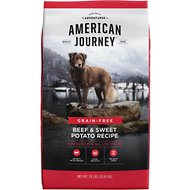 American Journey Beef & Sweet Potato Recipe Grain-Free Dry Dog Food, 24-lb bag