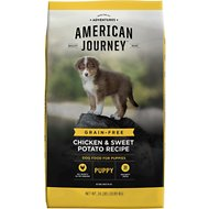American Journey Chicken & Sweet Potato Recipe Grain-Free Puppy Dry Dog Food, 24-lb bag