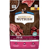Rachael Ray Nutrish Peak Natural Open Range Recipe with Beef, Venison & Lamb Dry Dog Food, 23-lbs bag