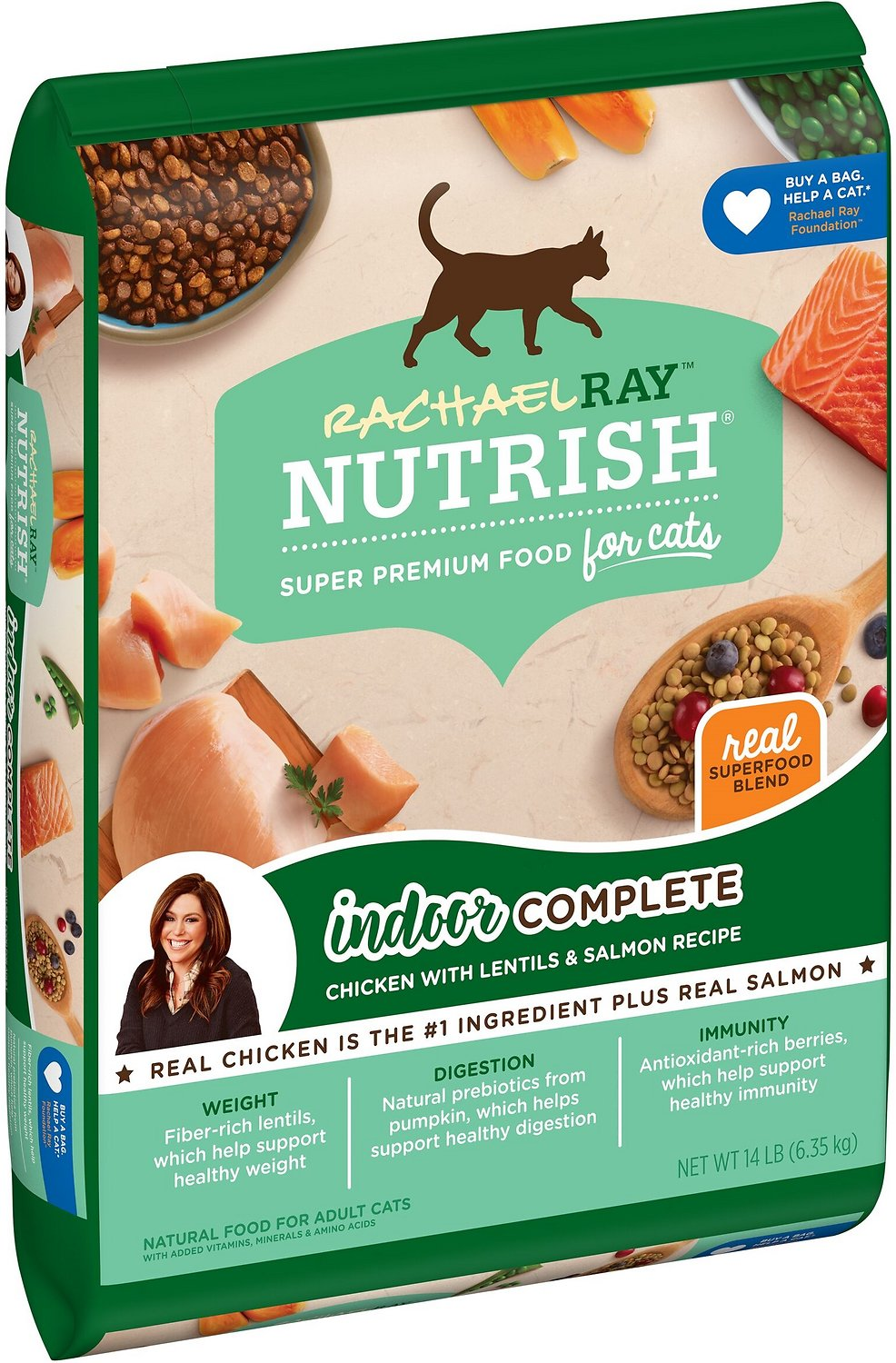 Rachael Ray Nutrish Indoor Complete Chicken With Lentils
