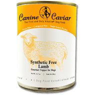 Canine Caviar 97% Lamb Grain-Free Canned Dog Food Supplement, 13-oz, case of 12