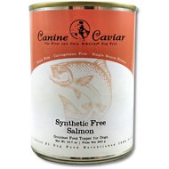 Canine Caviar 97% Salmon Grain-Free Canned Dog Food Supplement, 13-oz, case of 12