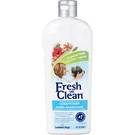 PetAg Fresh 'N Clean Tropical Fresh Oatmeal 'N Baking Soda Conditioner, 18-oz bottle