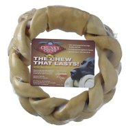 "PetAg Rawhide Brand Chunky Chews 8"" Jumbo Beef Braided Ring Dog Treat, 1 count"
