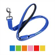 Illumiseen LED USB Rechargable Dog Leash, 4-ft, Blue
