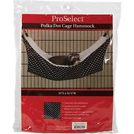 ProSelect Wild Time Cage Hammock, Polka Dot