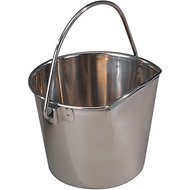 ProSelect Stainless Steel Flat Sided Pail, 1-qt