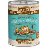 Merrick Seasonal Grain-Free Chicken, Spice & Everything Nice Canned Dog Food, 12.7-oz, case of 12