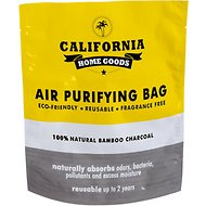 California Home Goods Natural Bamboo Charcoal Air Purifying Bag, 200g