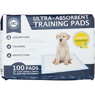 American Kennel Club Lemon Scented Puppy Training Pads, 100 count