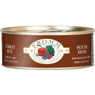 Fromm Four-Star Nutritionals Turkey Pate Canned Cat Food, 5.5-oz, case of 12
