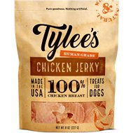 Tylee's Chicken Jerky Human-Grade Dog Treats, 8-oz bag