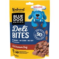 Blue Dog Bakery Deli Bites Beef Dog Treats, 7.8-oz bag