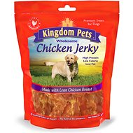 Kingdom Pets Chicken Jerky Dog Treats, 48-oz bag