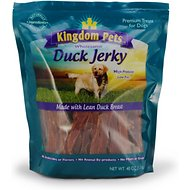 Kingdom Pets Duck Jerky Dog Treats, 40-oz bag