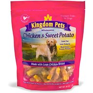Kingdom Pets Chicken & Sweet Potato Jerky Twists Dog Treats, 48-oz bag