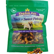 Kingdom Pets Duck & Sweet Potato Jerky Twists Dog Treats, 48-oz bag