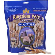 Kingdom Pets Chicken & Rawhide Jerky Wraps Dog Treats, 32-oz bag