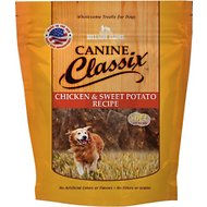 Canine Classix Chicken & Sweet Potato Jerky Recipe Soft Dog Treats, 6-oz bag