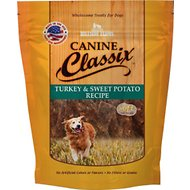 Canine Classix Turkey & Sweet Potato Jerky Recipe Soft Dog Treats, 6-oz bag