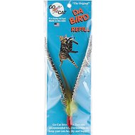 Go Cat Da Bird Original Feather Teaser Wand Replacement Cat Toy