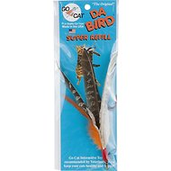 Go Cat Da Bird Super Pheasant Feather Teaser Wand Replacement Cat Toy