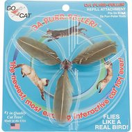 Go Cat Da Bird Cat Catcher Da Purr Peller Teaser Wand Replacement Cat Toy