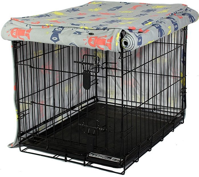 Dog Crate Covers molly mutt i am not a robot dog crate cover, medium - chewy