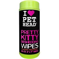 Pet Head Pretty Kitty Deshedding Wipes 50 count