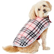 Zack & Zoey Nor'easter Dog Blanket Coat, X-Small, Pink