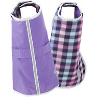 Zack & Zoey Nor'easter Dog Blanket Coat, Large, Purple