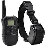 Hot Spot Pets Wireless Rechargeable Dog Training Collar W/ 100 Level Vibration & Shock, 1 count