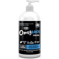 Finest for Pets Omegease Omega-Rich Fish Oil Dog & Cat Supplement, 16-oz bottle
