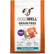 Dogswell Salmon Recipe Adult Grain-Free Dry Dog Food, 24-lb bag