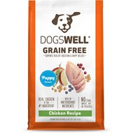 Dogswell Grain-Free Puppy Chicken Recipe Dry Dog Food, 4-lb bag