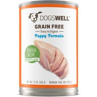 Dogswell Hearty Loaf Chicken Recipe Grain-Free Puppy Canned Dog Food, 13-oz, case of 12