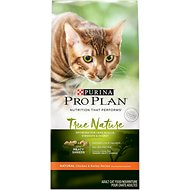 Purina Pro Plan True Nature Natural Adult Chicken & Barley Recipe Dry Cat Food, 13-lb bag