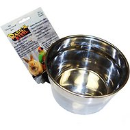 Lixit Radical Steel Small Animal & Bird Bowl, 20-oz